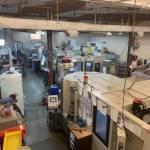 Kiwa horizontal machining center.